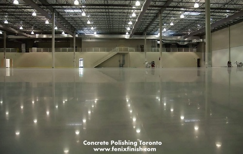 Polished Concrete Basement Floor via andrewstanley