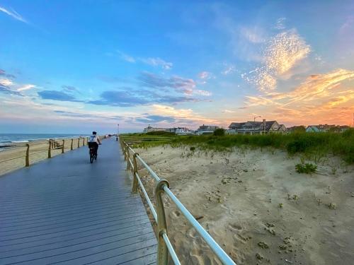 At the Beach via Steven Hughes
