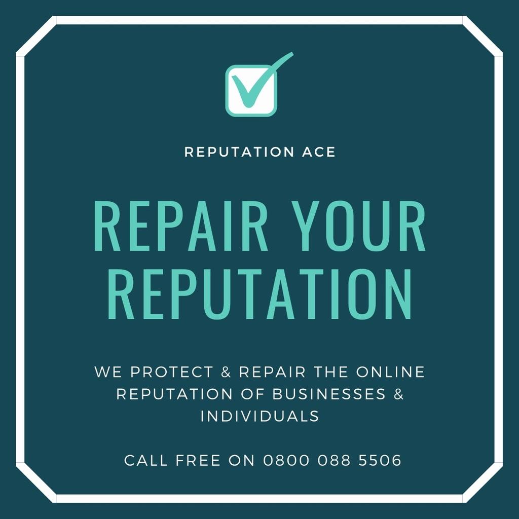 Repair My Reputation via Repair Online Reputation