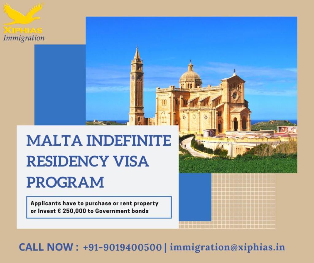 Malta Indefinite Residency Visa Program via Fularani Vhansure