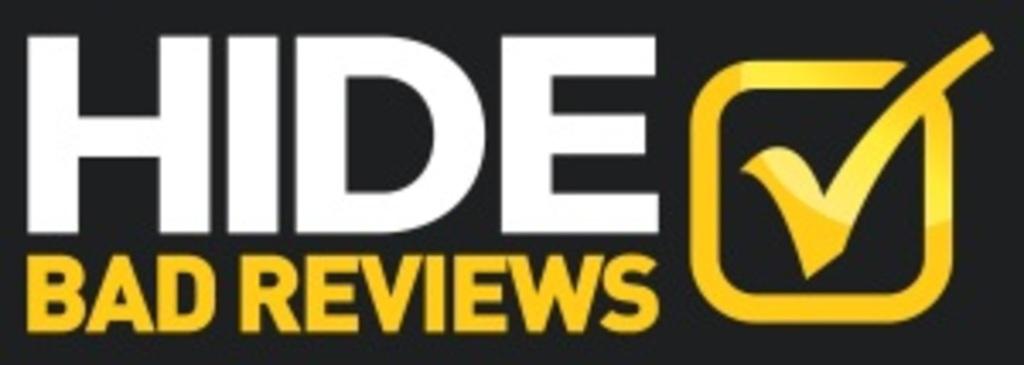 Hide Bad Reviews via Remove Bad Reviews