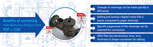 How & Why Should you Convert PDF to CAD for Manufacturing De... via Jaydeep Chauhan