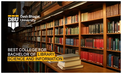 Library science is a discipline that applies the methods, in... via Desh Bhagat University