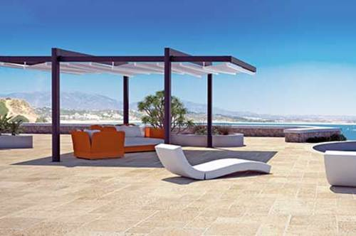 Opening Fabric Roofs are Perfect Structures via Tecnic Product