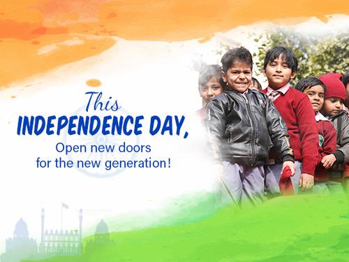 Happy Independence Day 2020 via Akshaya Patra