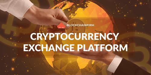 Cryptocurrency Exchange Platform - Blockchain Firm