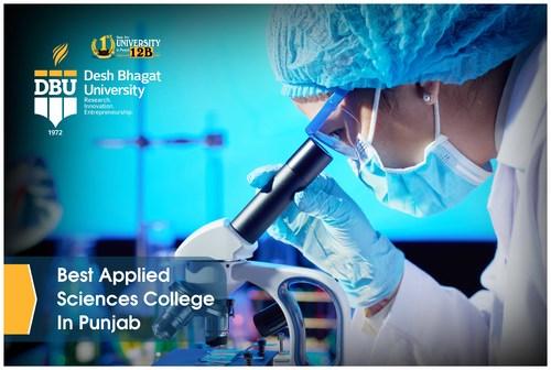 Best applied science In Punjab via Desh Bhagat University