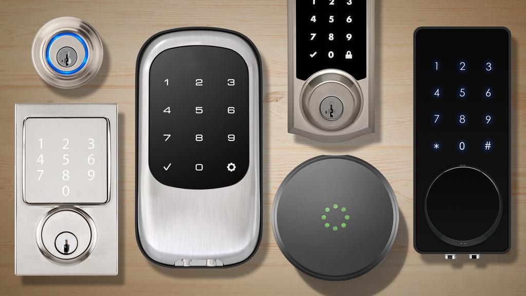 #Smart #locks                                                                                   source :- via Bobby clarke