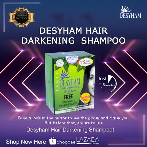 Sit back, relax, and give way for Desyham Hair Darkening Sha... via Desyham