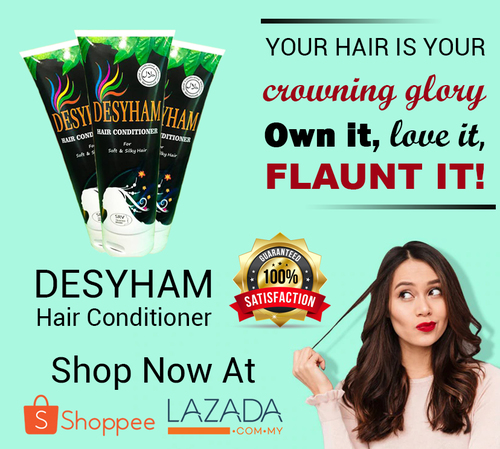 Condition your hair and give them a healthy shine with Desyh... via Desyham