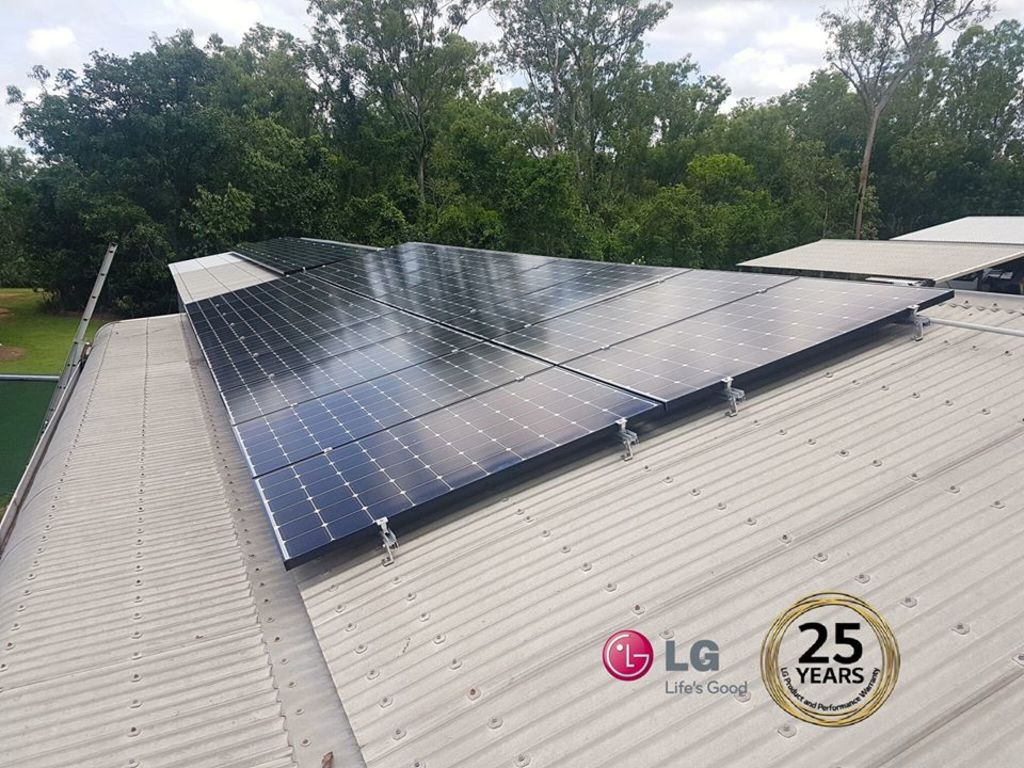 Install the LG solar panels to your home to get maximum outp... via Quality Solar NT