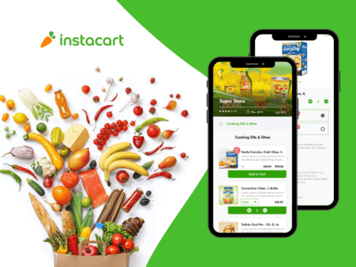 Want to develop an app like Instacart - Grocery Delivery App... via PeppyOcean