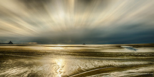 Duo in light via Jean Michel