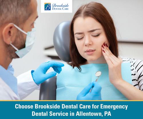 Choose Brookside Dental Care for Emergency Dental Service in... via Brookside Dental Care