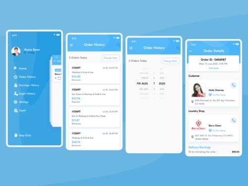 On Demand Laundry App Development, Uber for Laundry App Clon...