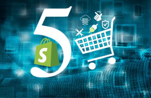 Top 5 Benefits of Shopify for Ecommerce Website Development via Virasat Solutions