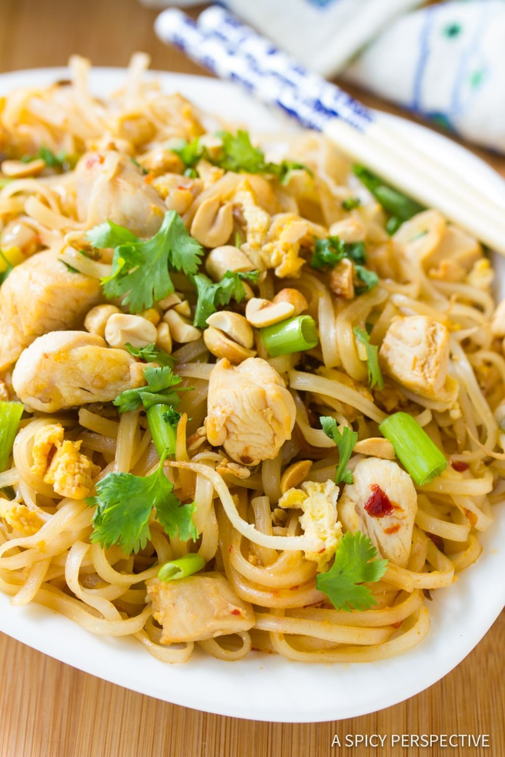Does Pad Thai taste fishy?                                         The flavors of this dish are cent... via Tangos