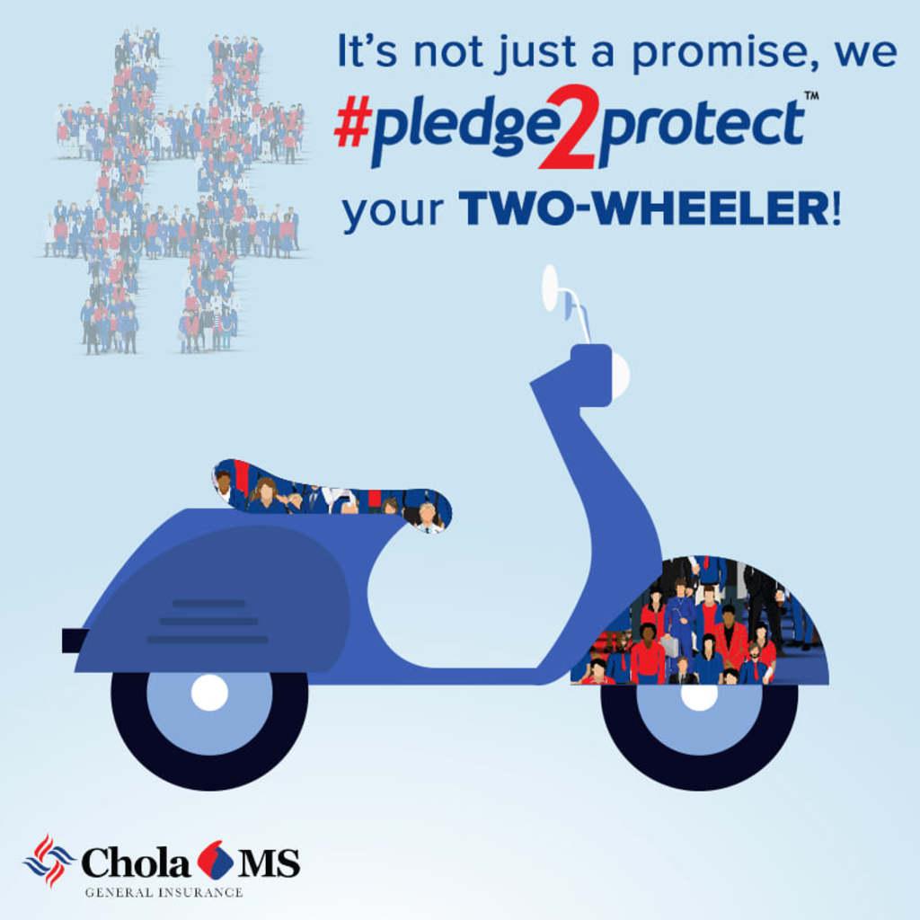 Two wheeler Insurance via Chola Insurance