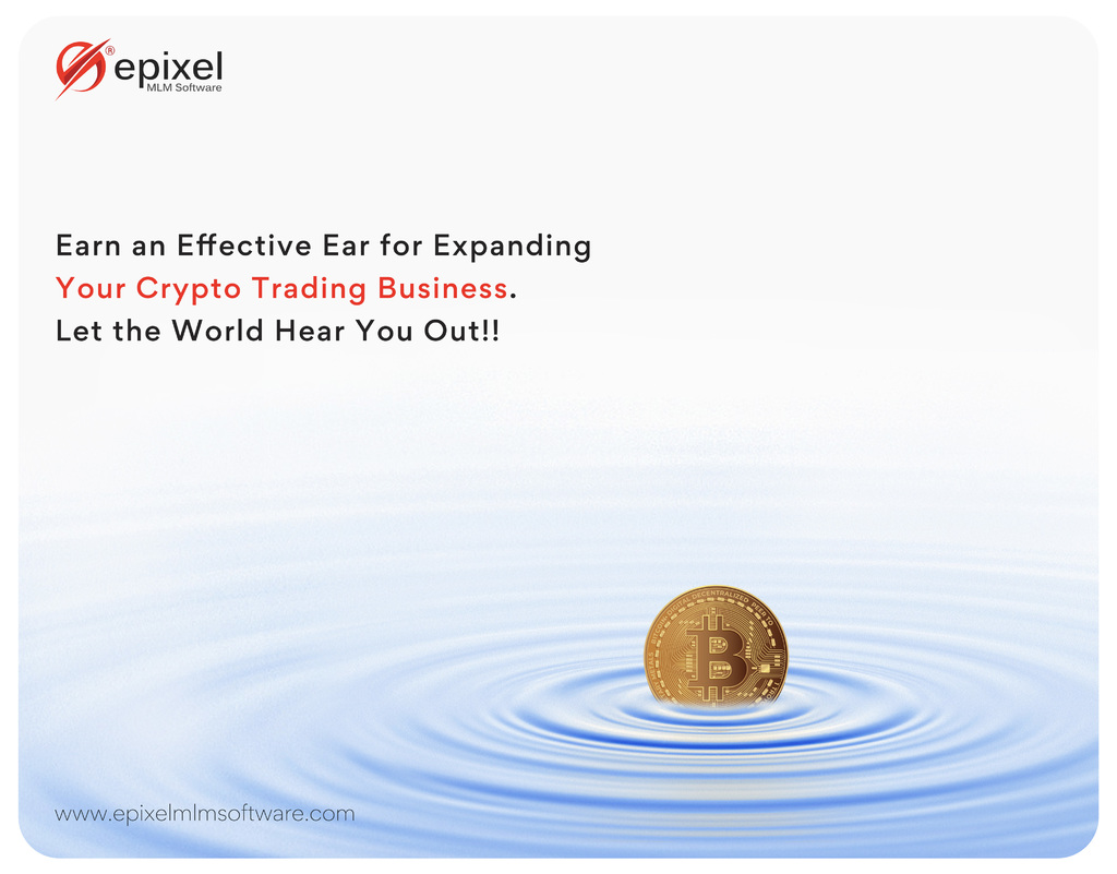 Cryptocurrency Trading MLM Software via Epixel MLM Software