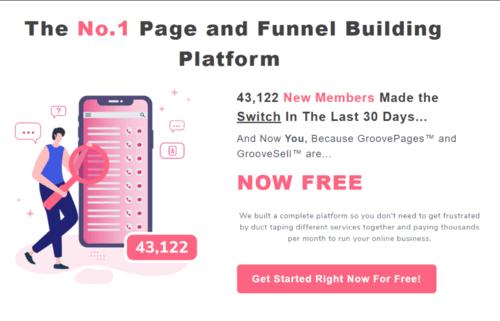 GrooveFunnels — The #1 Funnel Builder Platform and more!