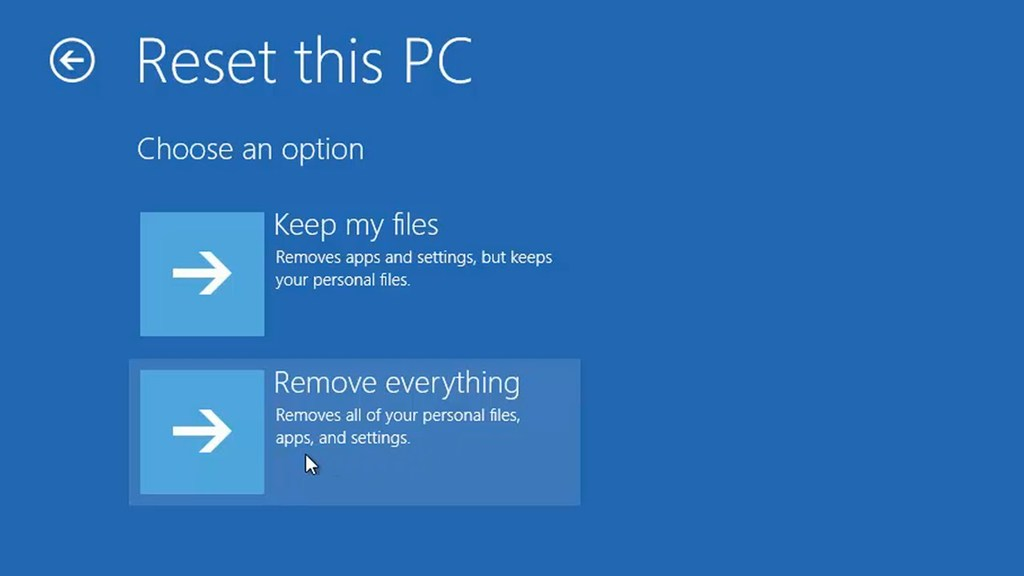 Alternative to Resetting the PC on Factory Settings                                                                                                                           Whenev... via Bobby clarke