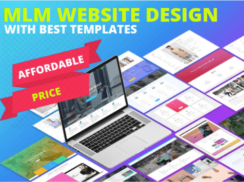 MLM Website Design With Best MLM Templates via Infinite MLM Software