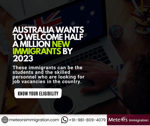 Australia  visa via Meteors Immigration