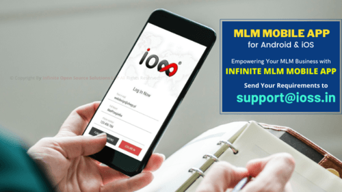 MLM Mobile App for Android & iOS via Infinite MLM Software