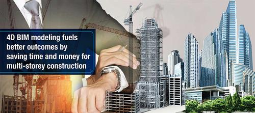 How 4D Modeling reinforces Multi-Storey Building Construction