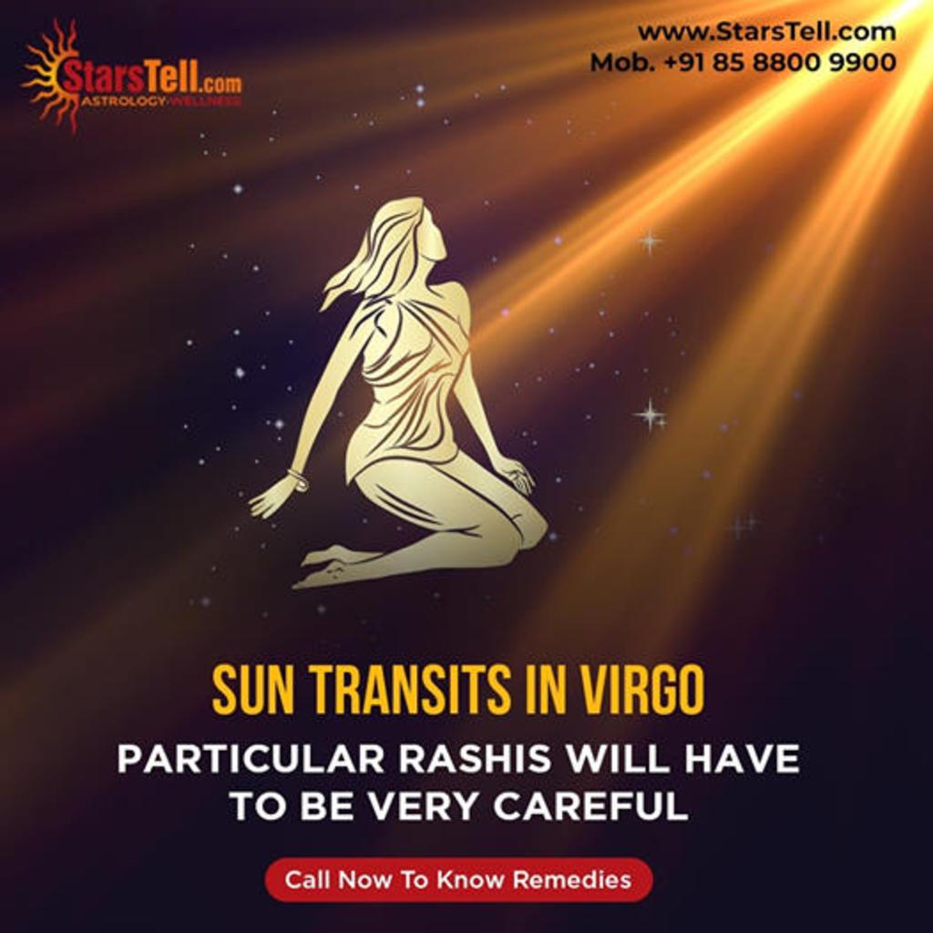 Sun Transits in Virgo - StarsTell via StarsTell US
