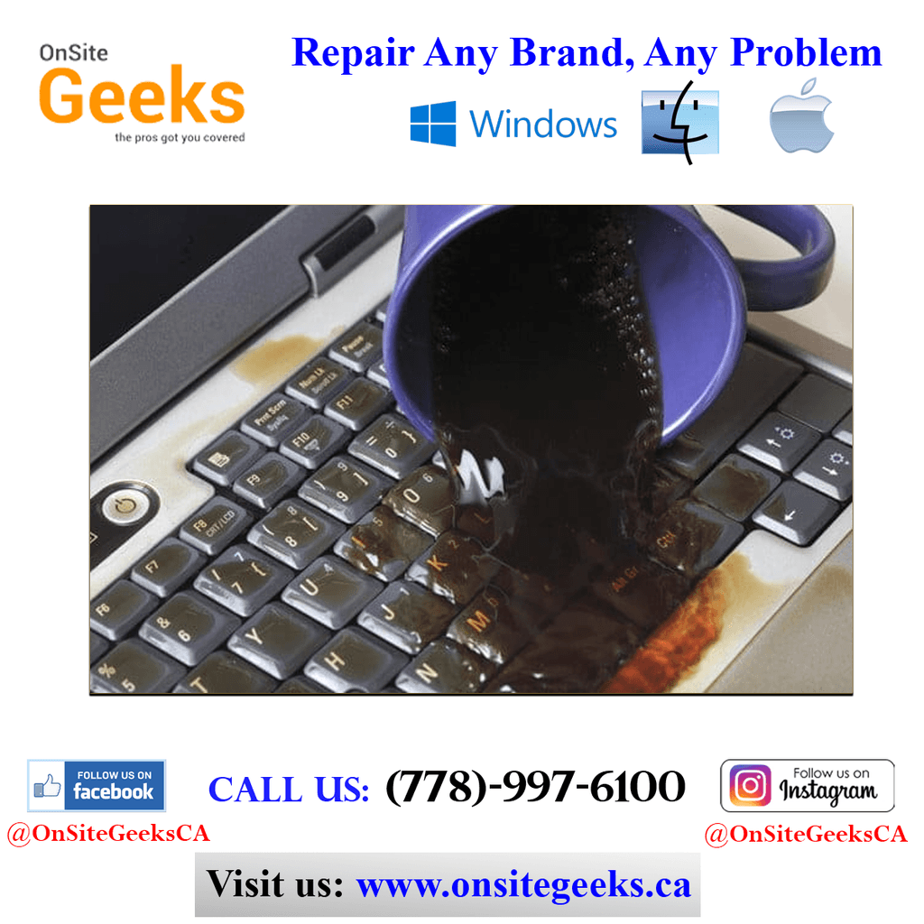 Onsite Geeks provide almost every repair on your Laptop, Fro... via Tangos