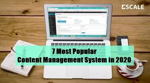 7 Most Popular Content Management System(CMS) in 2020 via Escale Solutions