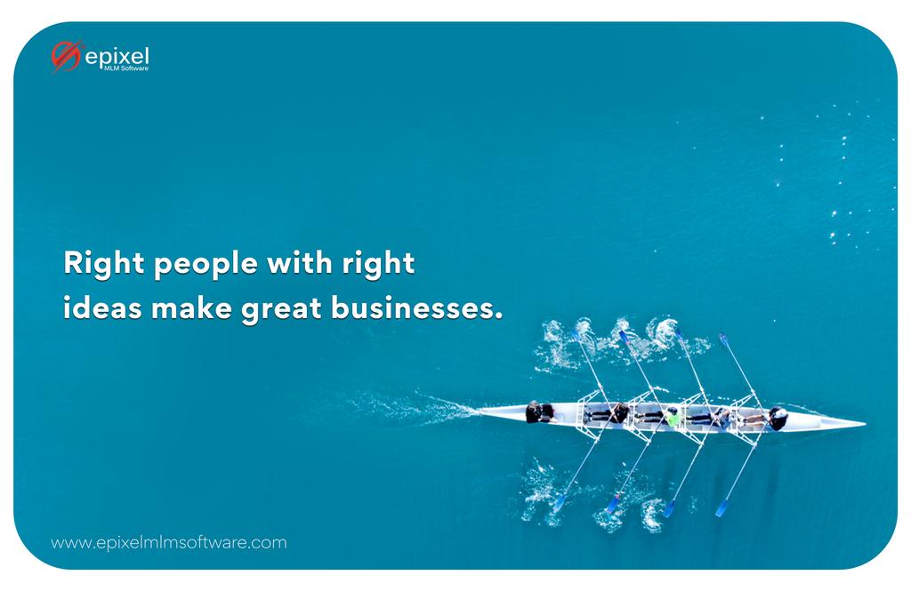A successful network marketing business runs on innovative i... via Epixel MLM Software