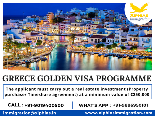 Greece Golden Visa Programme via Fularani Vhansure