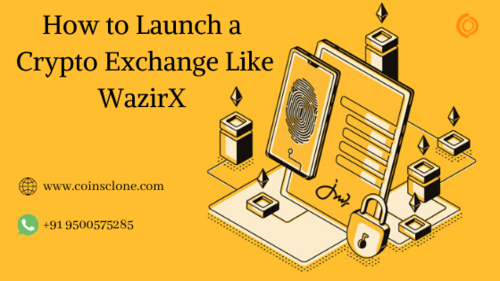 WazirX Clone Script | Build a Crypto Exchange Platform like WazirX