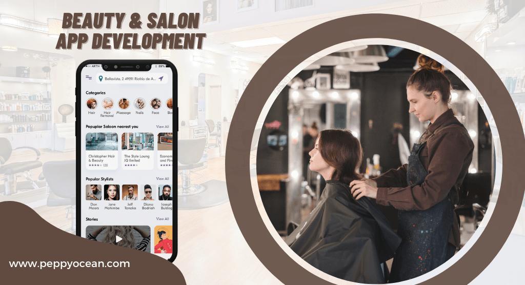 Beauty & Salon App Development via PeppyOcean
