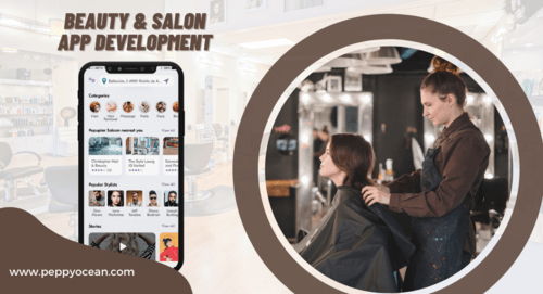 Beauty & Salon App Development via PeppyOcean