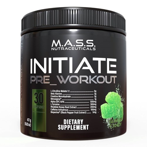 Initiate Pre workout Supplements by Mass Supplements - Trepup.com