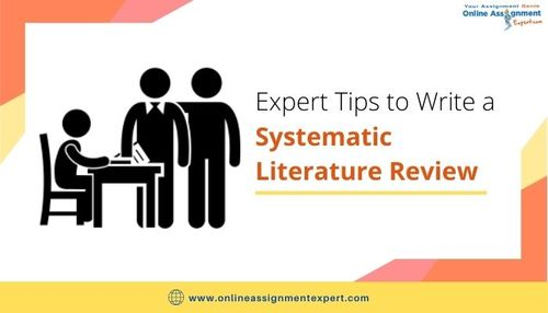 How to Write a Systematic Literature Review? via Koby Mahon