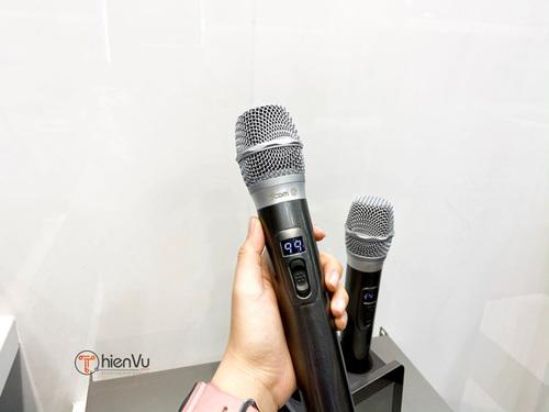 Micro không dây karaoke gia đình via amthanhthienvu