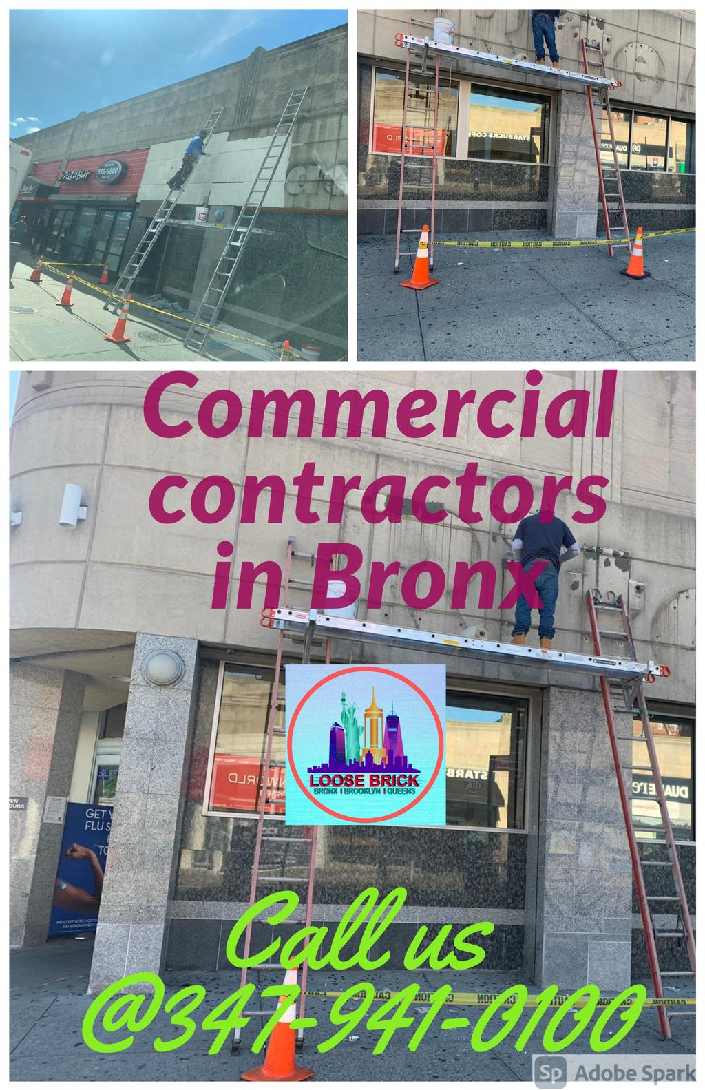 Commercial contractors in Bronx via Loose Brick