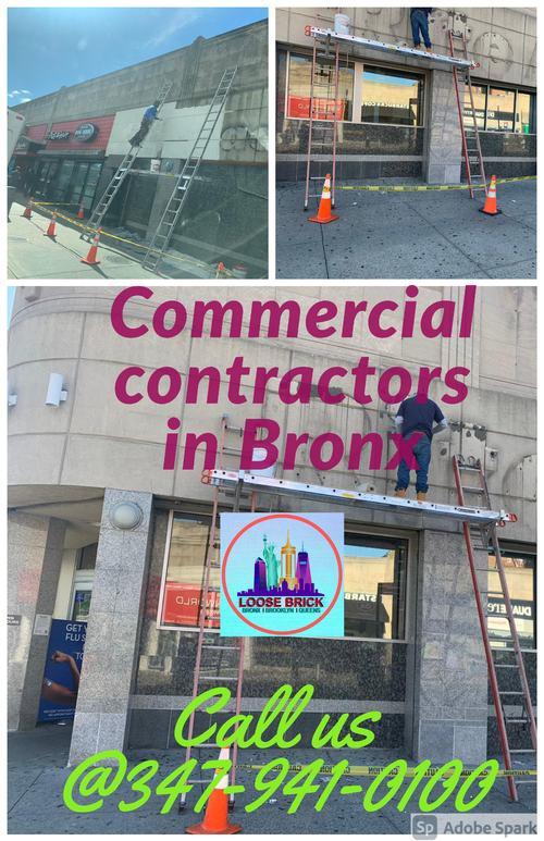 Commercial contractors in Bronx via Loose Brick