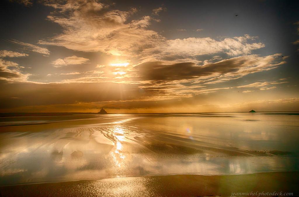 Low tide colors via Jean Michel