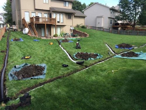 Yard Drainage Solutions                                                                          How to Fix Standing Water inYard? ... via Jim Gardner Construction