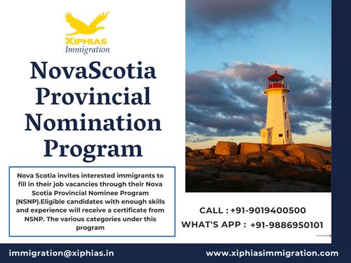 Nova Scotia nomination program via Fularani Vhansure
