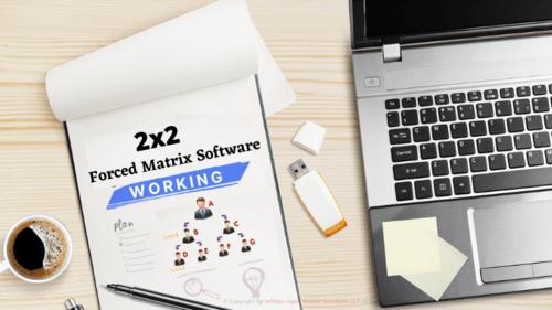 2x2 Forced Matrix Software Working via Infinite MLM Software
