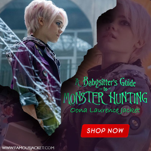 A Babysitter's Guide to Monster Hunting Oona Laurence Jacket... via famous jacket