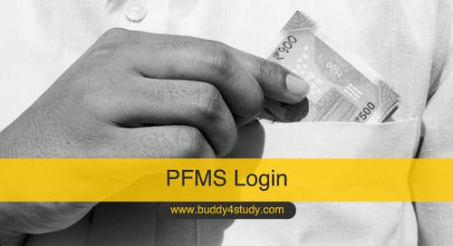 PFMS Login – Payment Status, Reset Password, New User Registration