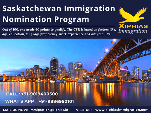 Saskatchewan Immigration Nomination Program via Fularani Vhansure