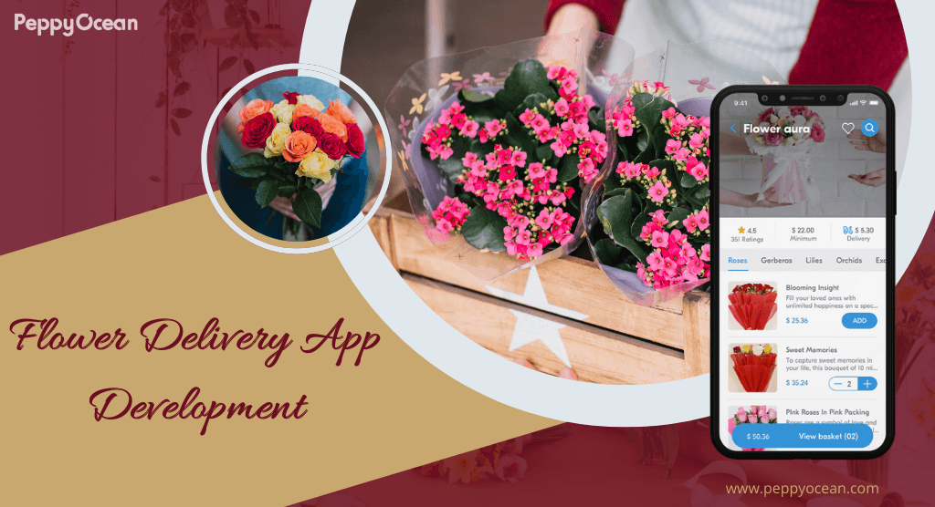 The flower delivery industry is booming and has great scope ... via PeppyOcean